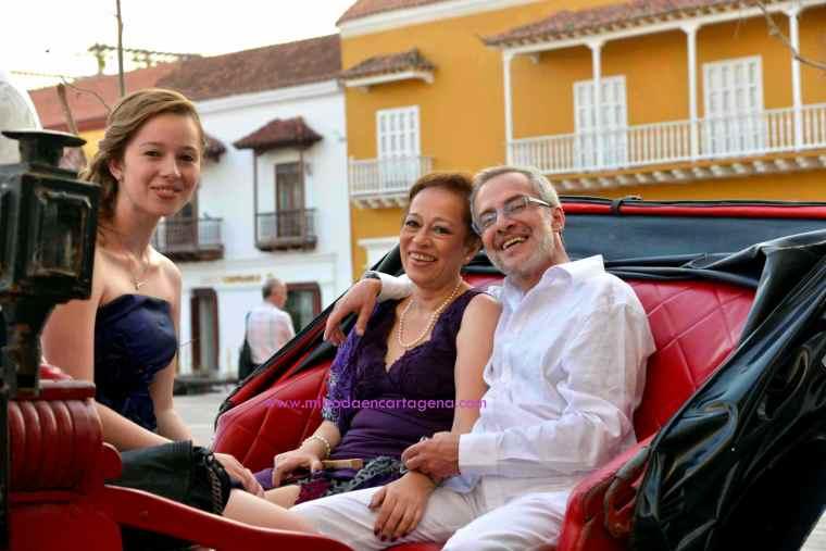 Mi Boda En Cartagena, paseo en coche_9