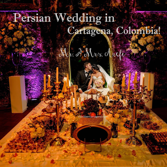 0_Persian Ceremony Wedding Cartagena