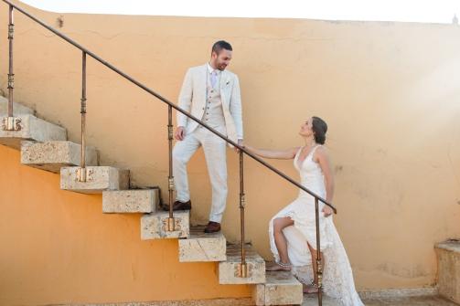 cartagena walled city wedding
