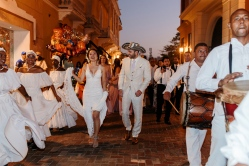 cartagena dancing wedding