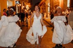 cartagena dancing wedding