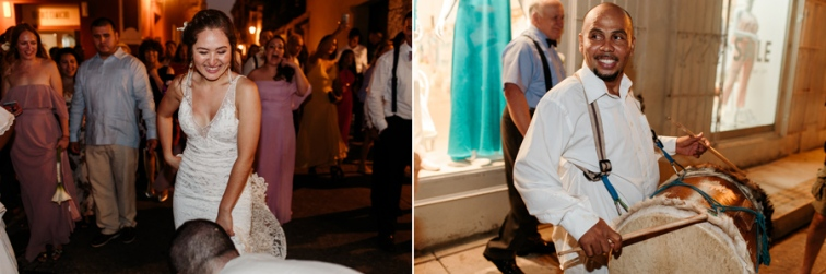 bride and groom dance to recepetion